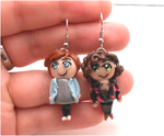 Harry and louis , larry stylinson earrings by MiniSweetx
