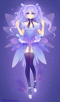 Snow Fairy Adoptable Bid [Closed] by CaramelCaprice