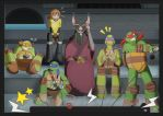 TMNT: The family by Samantai
