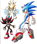 Sonic, Shadow and Silver trad by TioVenom