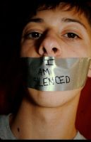 I Am Silenced. by lustdrunk