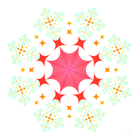 Eight-Pointed Multi Star by 1389AD