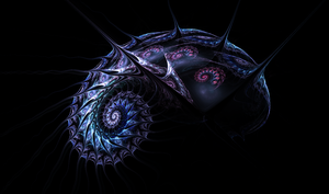 Spiralicious-Space-Snail by The-Apparition