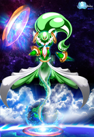 Garhoopavoir (Female Form) [Gardevoir x Hoopa]