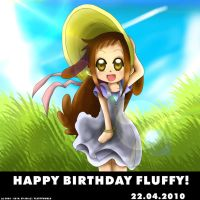 FW- Happy Bday Fluffy HD by EV133