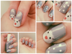 Poro [ nail art ] by Quintaru