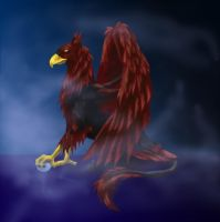 GriffinSpire productions logo by mystaya171