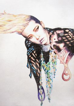Genie G-Dragon by Alteen-ai
