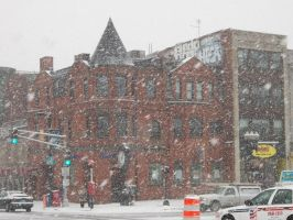 Mass Ave and Boylston 2 by CommissarChristoph