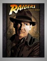 Indy comic book cover  concept by paulelder