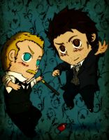 Watson and Holmes by Happy-Bomber