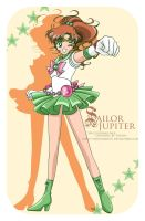 CP - Sailor Jupiter by selinmarsou