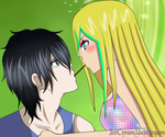 [P.C] Pocky Game [SiSa]? by IceCreamBubblegum
