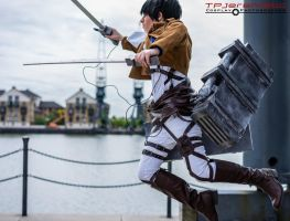 Attack on Titan - Levi's Leap by TPJerematic