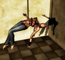 The Dancer - Rope Pose 1 by Afina79