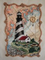 Lighthouse Cross-stitch by myctchr