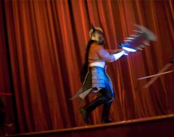 Tryndamere Spotlight - Spinning Slash by Drefan-cosplay