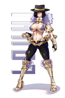 Louhi - Character File (63,76%) by TirNaNogIndustries