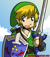Zelda Skyward Link by desfunk