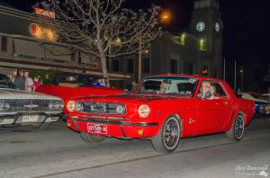 Red Mustang by djzontheball