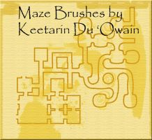 Maze Maker Brush Set by keetarin
