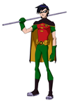 Teen Titans Robin YJ Styled by Bobkitty23