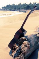 the guitar by GodwearsFendi
