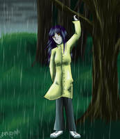 Tink in the Rain by Blairaptor