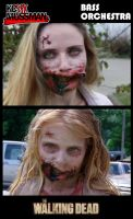 Little Girl Zombie... All Grown Up by KCMussman