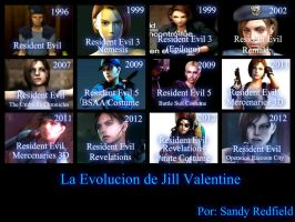 My New Evolution About Jill Valentine by SandraRedfield
