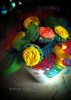 Cupcake Bouquet by Tootskie