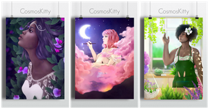 A4 Prints by CosmosKitty