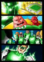 Commission for simotaku: Green Lantern Origin by grivitt