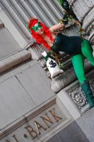 Poison Ivy- Robbing the Banks. by FallMoonlitRose