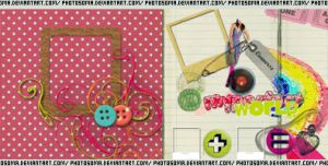 2 scrapbook texturas by photosoma