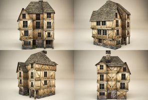 medieval house 3 by binouse49