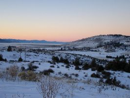 Klamath Sunset by Bareck