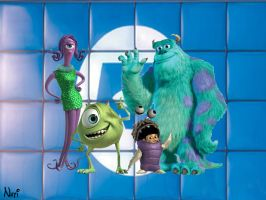Monsters Inc by nati010