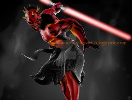 Darth Maul by pururaucangel