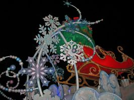 Christmas Parade 4 by WDWParksGal-Stock