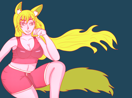colored Cute like a puppy wolf by gtstyling32