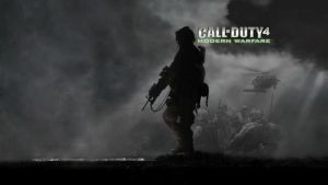 CoD 4 Menu Background by Wolfnicshadow