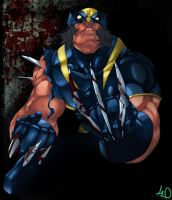 Wolverine by tincan by elhoyonegro