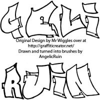 Graffiti Brushes by GrimStock