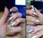 The Lord of the Rings_Nails by Misty-AnGel