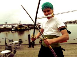 Roronoa Zoro Cosplay by Jarwes