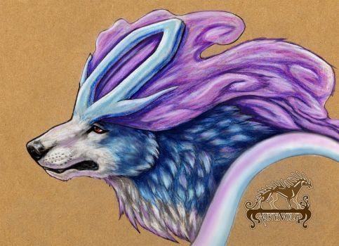 Suicune by ArkyiVolg