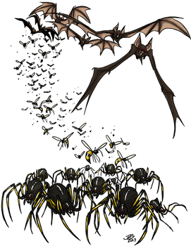 Morphic Swarm by ProdigyDuck