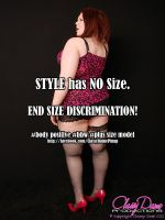 Style has no Size! by ClassyDamePinup