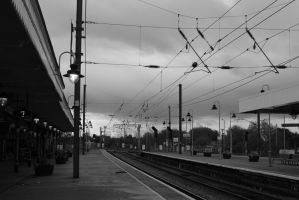 Train Station by GeorgeAmies